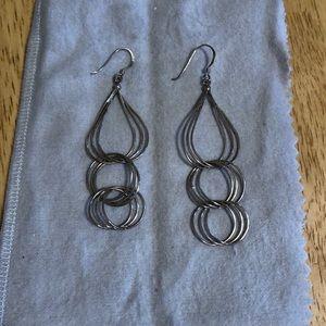 925 sterling dangle earrings